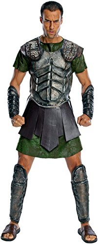 [Adult Deluxe Perseus Costume - Son of Zeus - God Size: Xtra Large] (Zeus God Costume)