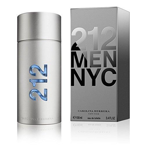 212 MEN NYC by Carolina Herrera 3.3 Ounce / 100 ml Eau de Toilette Men Cologne ()
