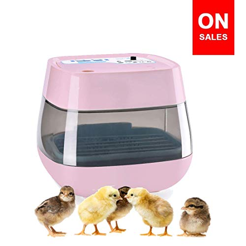 (HOMAKER Incubators for Hatching Eggs, Mini Advance Automatic 16 Egg Fully Digital Automatic Turning, Hatcher for Chick Ducks Goose Quail Birds)