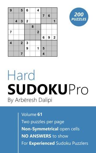 Hard Sudoku Pro: Book for Experienced Puzzlers (200 puzzles) Vol. 61 ePub fb2 ebook