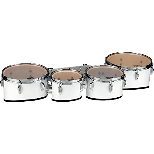 Tama Marching Starlight Marching Tenor Drums Quad 8, 10, 12, 13 in. Sugar White (Quad Marching Drums)