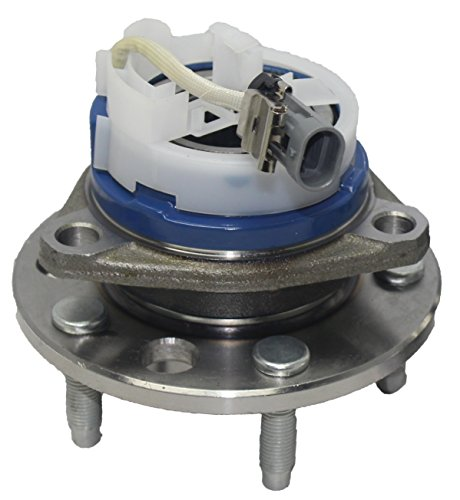 (Brand New Front Wheel Hub and Bearing Assembly 5 Lug w/ABS for 1992-1998 GM Vehicles)
