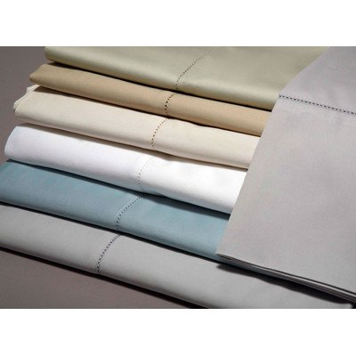 Belle Epoque 420 Full Thread Count Sheet Set with Hemstitch, White by Belle Epoque