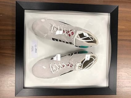6742882d800 Image Unavailable. Image not available for. Color  Mercedes Benz AMG F1  Lewis Hamilton Framed Replica White Puma Shoes Boots