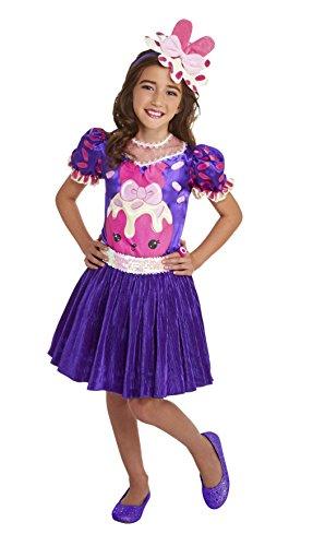 Raspberry Girl Costume (Num Noms Raspberry Cream Deluxe Costume)