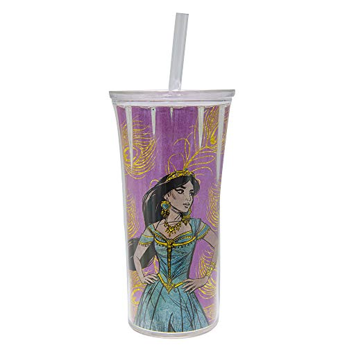 Zak Designs Clarion Straw Tumbler - Double Wall Tumbler - Aladdin - 20 oz.