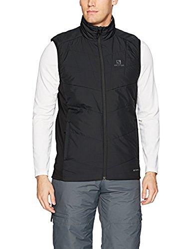 Salomon Snow Skis - Salomon Men's Drifter Mid Vest,Black,X-Large
