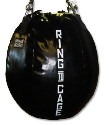 Wrecking Ball Heavy Punching Bag, Filled. for Boxing, MMA, Muay Thai, Hook and Upper cut bag by Ring to Cage