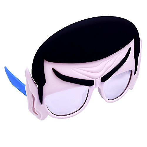 Sunstaches Star Trek Mr Spock Sunglasses, Party Favors, UV400]()