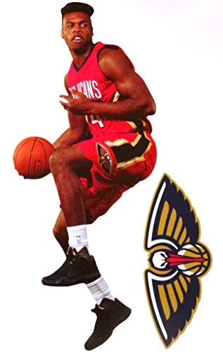 buddy-hield-mini-fathead-new-orleans-pelicans-logo-official-nba-vinyl-wall-graphics-7-inch