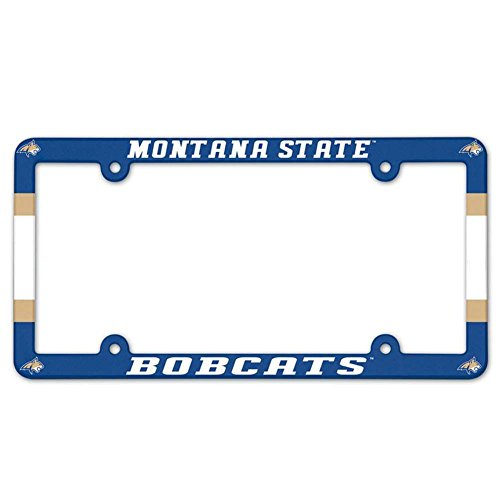 WinCraft Montana State Bobcats Plastic License Plate Frame