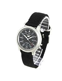 Seiko Men's SNK809K2 Black Cloth Automatic Watch