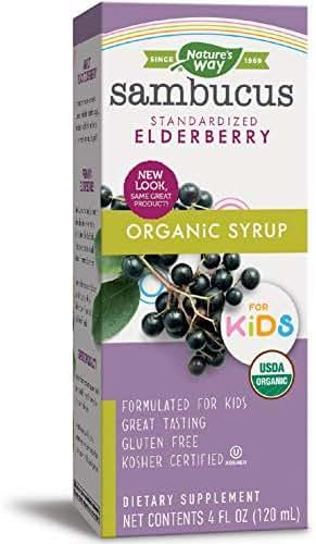 Nature's Way Sambucus Organic Elderberry Syrup