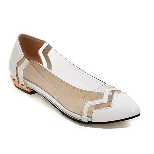 Compensées Sandales Blanc Femme SDC05598 AdeeSu OpwTqwE