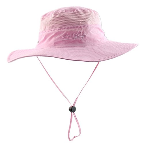Connectyle Outdoor Mesh Sun Hat Wide Brim Sun Protection Hat Summer Fishing Hunting Hiking Gardenig Hat