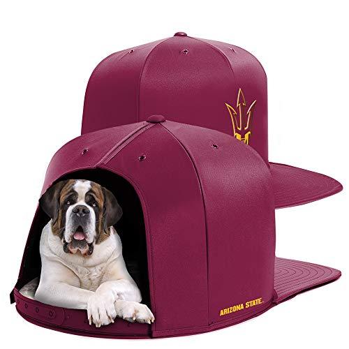 NAP CAP Arizona State University Team Indoor Pet Bed (Large) by NAP CAP (Image #3)