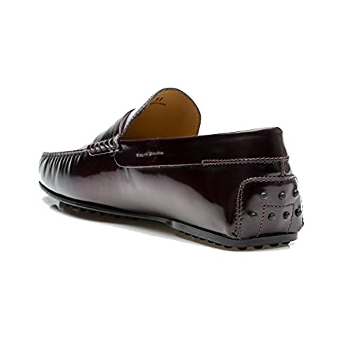 cd50fd0810a Tod s Men s Leather Moccasins City Gommino Loafer Shoes Burgundy durable  service