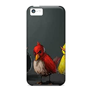 New Cute Funny Panting Angry Birds Cases Covers/ Iphone 5c Cases Covers