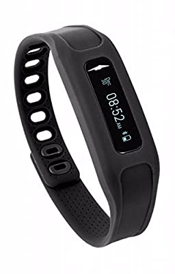 Avia TOUCH App-Based Activity and Sleep Tracker - Tap Screen Function - Black (Multiple Colors Available)