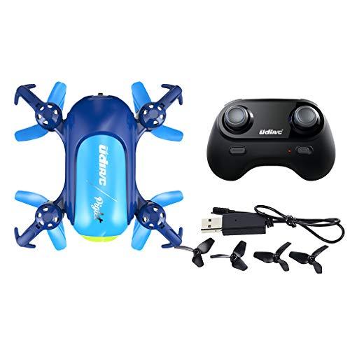 MagiDeal UDI RC Drone U36W Mini Quadcopter con 480P Camera Altitude Hold Mode - Azul