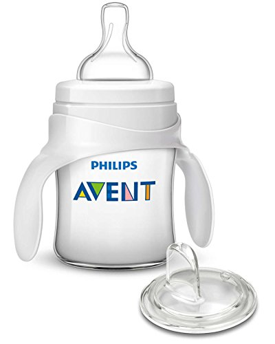Philips AVENT My First Transition Cup, Clear, 4 Ounce