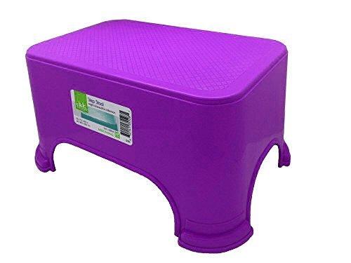 Click Home Design - Purple Step Stool - Bright