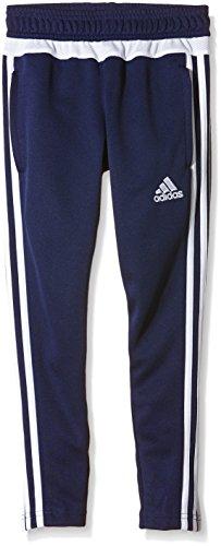 adidas Tiro 15 Training Skinny Pants (Youth) - Navy Blue/White - Age 13-14 (Adidas Tiro 13)