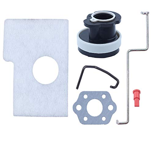 Parts Linkage Service (Haishine Throttle Choke Rod Intake Manifold Air Filter Breather Kit Fit Husqvarna MS180 MS180C MS170 018 017 Chain Saw Parts)