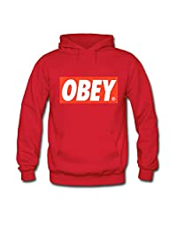 OBEY Logo Printed For Mens Hoodies Sweatshirts Pullover Tops