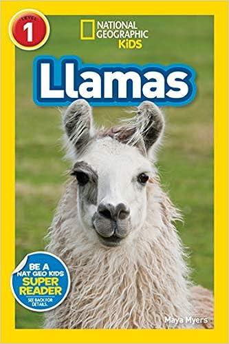 13. National Geographic Readers: Llamas