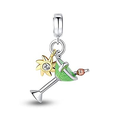 Glamulet Jewelry - Little Druck By The Seaside Dangle Charm -- 925 Sterling Silver from Glamulet