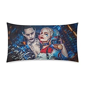 Harley Quinn And Joker Suicide Squad Custom Pillowcase Rectangle Pillow Cases 20X30 Inches (Two Sides) - Harley Bedding
