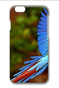 3D Surrounded All Printed Technology Case For iPhone 6 Apply To 4.7 Inch Hard case non-slip case Coloured Drawingcase Easy To Operate Colorful Bird
