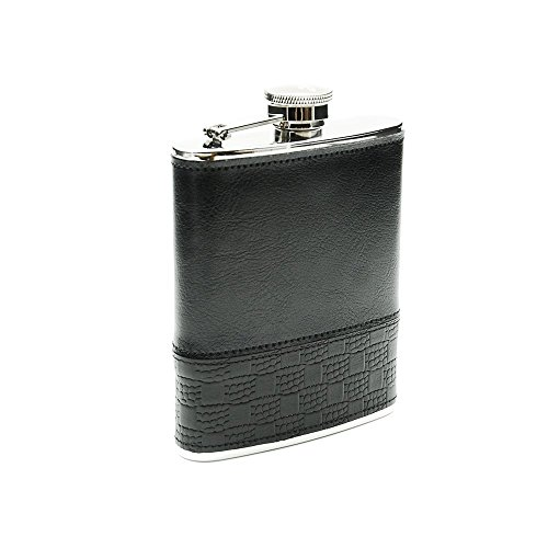 6 Ounce Black Leather - 7