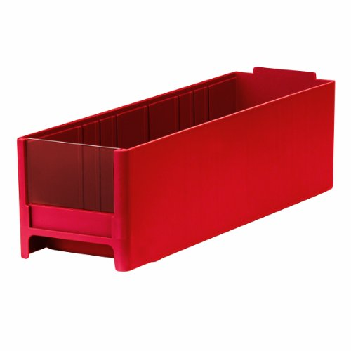 Akro-Mils 20715 Replacement Drawer for 19715 Steel Storage Cabinet, Red, Case of 30 by Akro-Mils