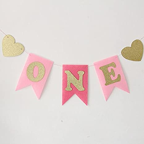 Amazon Com Imagitek Baby Girls First Birthday Party Decorations