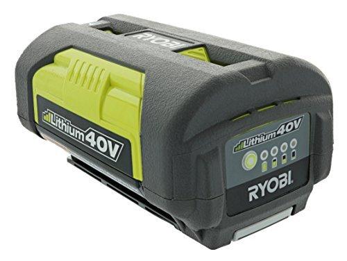 Ryobi OP4026A Genuine OEM 40V High-Capacity Lithium Ion Battery w/ Onboard Fuel Gauge by Ryobi