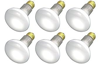 pack of 6 30r20fl 120v 30 watt r20 flood e26 base 30w light bulbs