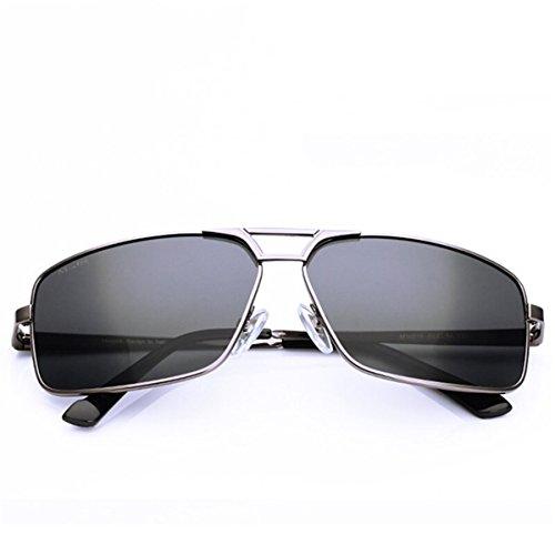 Sol Gafas Gafas de Gafas los Color Pistola Hombres Macho KOMNY Gun de de Hombres de Hombres los Sol polarizadores polarizador Conductores Sol de Color de fE8n6x