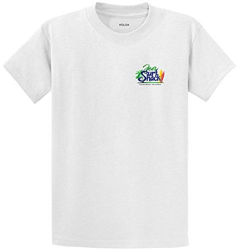 Joe's Surf Shack Original Logo T-Shirt-White/c-S (Shop Logo)