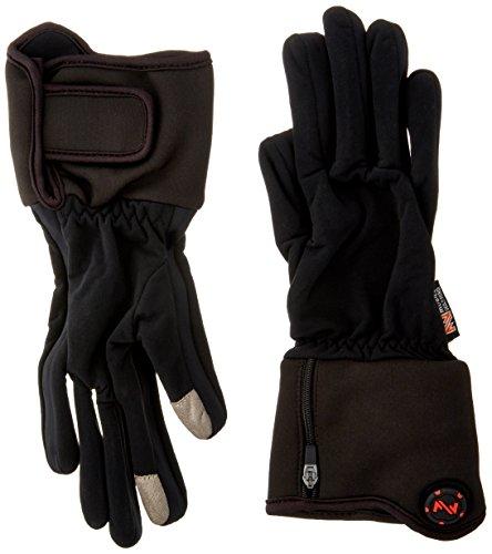 - Mobile Warming Unisex-Adult Heated 7.4v Gloves Liner (Black, Large)