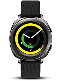 Gear Sport Smartwatch (Bluetooth), Black, SM-R600NZKAXAR – US Version with Warranty