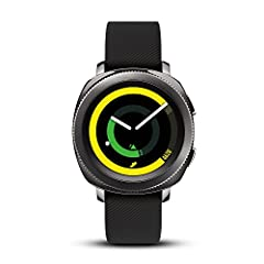 From work to workout, the swim-ready Samsung Gear Sport keeps up with your life. Track your fitness and keep an Eye on calories, all while getting real-time notifications. Access your favorite apps and even control your home and payments righ...