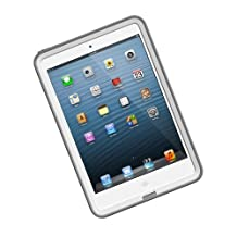 LifeProof FRE iPad Mini Waterproof Case - Retail Packaging - WHITE/GREY