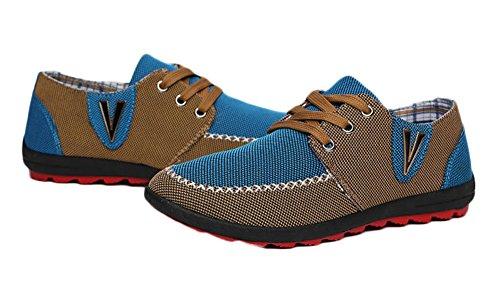 King Ma Mens Canvas shoes Snecker 7 M US