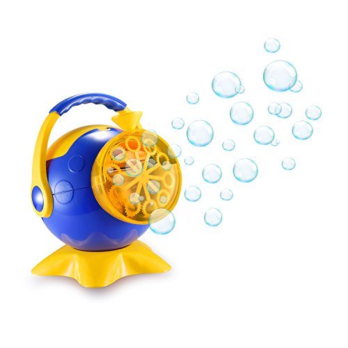 Bubble Machine for Kids Automatic Bubble Blower Durable Bubble Maker Over 500 Colorful Bubbles per Minute with 4 AA Battery Operated(Not include) …