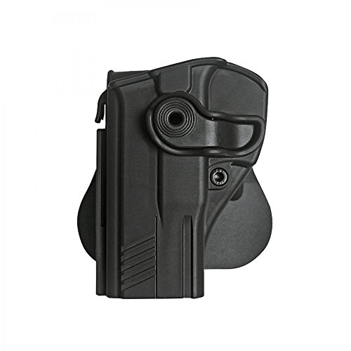Black Imi-z1360l - Retention Roto Holster for Taurus Pt 800 Series & Pt840 Compact-left Handed