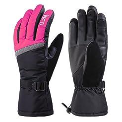 MCTi Ski Gloves,Winter Waterproof Snowbo...