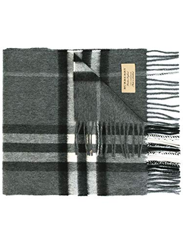 Burberry Cashmere Scarf - Burberry Men's 3994207 Grey Cashmere Scarf