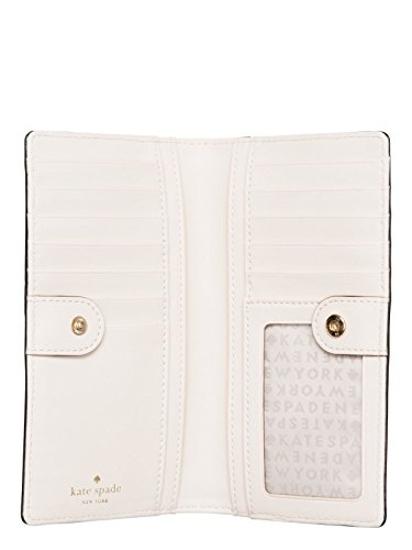 KATE-SPADE-MIKAS-POND-STACY-LEATHER-CLUTCH-WALLET-Mint-Mojito